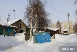 Балки - временное жилье построенное в советское время. Сургут, временное жилье, балок, поселок взлетный