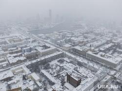 Виды города. Екатеринбург, снег, город екатеринбург, вид сверху, снежная погода