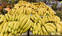 Пятерочка. Супермаркет. Челябинск., бананы, фрукты