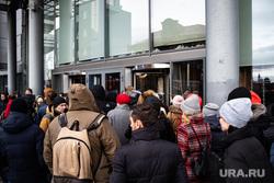 Эвакуация людей из бизнес-центра  «Высоцкий». Екатеринбург, эвакуация, бц высоцкий