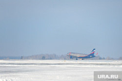 Аэропорт. Самолет. Челябинск., боинг, взлет, посадка, аэрофлот