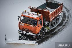 Клипарт. Екатеринбург, камаз, зима, уборка улиц, чистка дороги
