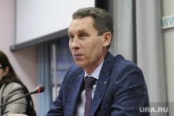 Пресс-конференция заместителя губернатора Сергея Шустова. Тюмень, шустов сергей