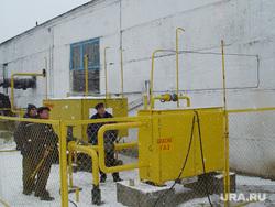 Комиссия по охране труда Правительство области Курган 20.11.2013г, газовая котельная, газопровод