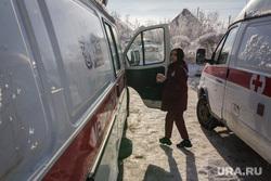 Министр здравоохранения Юрий Семенов на подстанции № 1 скорой медицинской помощи. Магнитогорск, скорая медицинская помощь