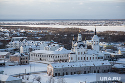 Посад сибирских старожилов и виды города. Тобольск, тобольск