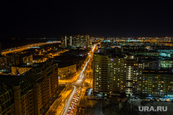 Город ночью. Сургут, ночь, ночной город, огни города, улица мелик-карамова, городской пейзаж