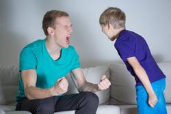 Клипарт depositphotos.com, ребенок, агрессия, крик, воспитание, ссора, ругань, негатив, кричать на ребенка