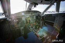 Чешский самолет на УЗГА. ЕКатеринбург, кабина пилота, панель управления