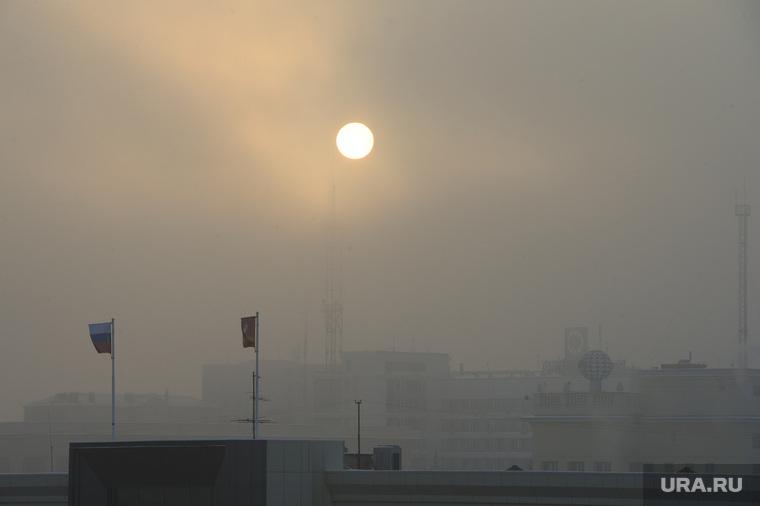 Неблагоприятные метеоусловия. Челябинск