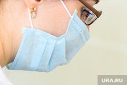 Вакцинация от гриппа. Челябинск, медсестра, медицинская маска, защитная маска