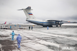Cамолет Ил-76 военно-космических сил России прилетевшbq из Китая. Тюмень, впп, рощино, ил-76, самолет, взлетно-посадочная полоса