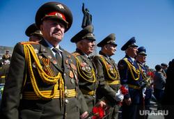 Парад Победы и Бессмертный полк. Екатеринбург, ветеран