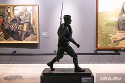 Выставка в Манеже «Память поколений». Москва, картина, великая отечественная война, вов, переяславец михаил, смоленская дорога