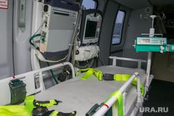 Центр медицины катастроф. Курган, вертолет, реанимация, медицинское оборудование, скорая помощь, медтехника, санитарная авиация, место для больного
