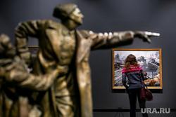 Выставка в Манеже «Память поколений». Москва, картина, музей, выставка, изобразительное искусство, экспозиция, вычетич евгений, последний бой генерала михаила ефремова