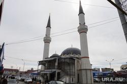 Чечня. Грозный , чечня, грозный, мечеть на рынке