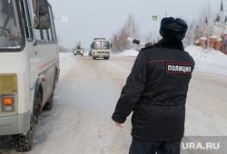 Профилактическое мероприятие «Автобус» Дорожные полицейские проверяют соответствие технического состояния. Курган, пазик, автобус, маршрутка, паз