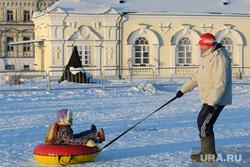 Виды Кунгура. Пермский край, зима, зимняя забава, бублик