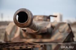 Реконструкция боевых действий Великой Отечественной войны. Сургут, немецкий танк, т-4, pz IV, танковое орудие