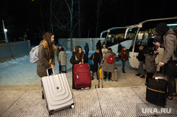Граждане покидающие карантинную зону санатория