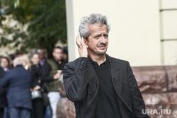 Прибытие гостей на церемонию прощания с режиссером Театра «Ленком» Марком Захаровым. Москва, богомолов константин