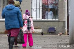 Митинг партии КПРФ против Единой России на территории детской поликлиники по ул. Карбышева., поликлиника, дети