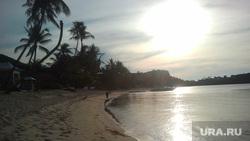 Клипарт, море, пальмы, океан, тайланд