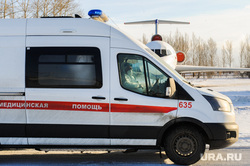Учения экстренных служб, аэропорта имени Игоря Курчатова. Челябинск, скорая помощь, защитная одежда, самолет, скорая медицинская помощь