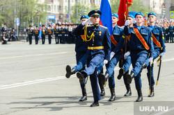 Празднование 9 мая. Челябинск, почетный караул