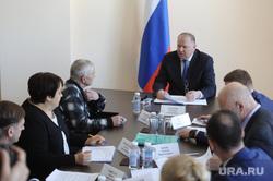 Николай Цуканов с рабочим визитом в городе Карабаше. Челябинская область , цуканов николай