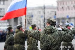 Репетиция торжественного построения к Дню Победы. Челябинск, армия, флаг россии, репетиция