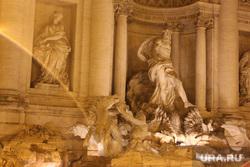 Клипарт. Италия. Рим , архитектура, скульптура, фонтан де треви