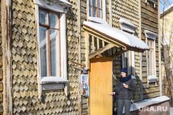 Виды Новоуральска, Свердловская область, старый дом, деревянный барак, жилой дом, аварийное жилье, ветхое жилье, чешуйчатый дом