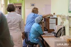 Презентация новой техники в областном онкодиспансере. Курган, пост медсестры, медсестра, врач, больница, вызов врача