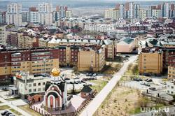 Березовая роща в микрорайоне Академический. Екатеринбург, микрорайон академический