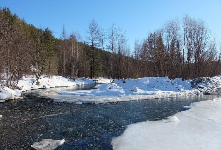 Река Лозьва и строительство мостов для Саумского месторождения