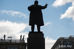 Виды Екатеринбурга, памятник ленину