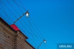 Виды города. Тобольск, колючая проволока, зона, тюрьма, забор