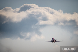 Очередной споттинг в Кольцово. Екатеринбург, облака, небо, самолет