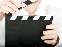 Клипарт depositphotos.com, кино, хлопушка для кино