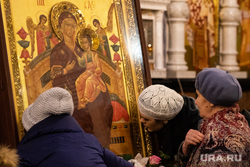Встреча чудотворной иконы Божией Матери «Всецарица». Екатеринбург, икона, храм, церковь, вера, молитва, православные, православие, икона всецарица