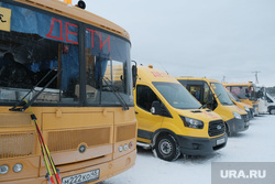 Лыжня России 2019. Курган, автобус дети