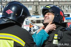 Соревнования пожарно-спасательному кроссфиту. Челябинск, мчс, пожарные, пожарная каска