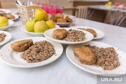 Клипарт. Магнитогорск, продукты, гречка, яблоки, еда, котлета, столовая в школе, школьное питание