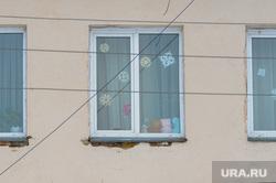 Школа-интернат. Челябинская область, игрушки, детство, дети, окно