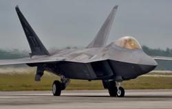 Клипарт depositphotos.com, американский военный самолет, военный самолет сша, истребитель, самолет f-22 raptor