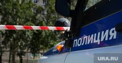 Взрыв на Сыромолотова, 28. Екатеринбург, полиция, лента ограждения