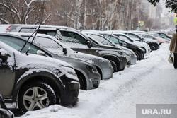 Снег в городе. Курган, снег, снег в городе, зима курган, парковка, машины, автобомили