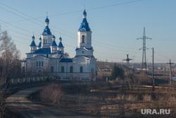 Виды Урала. Алапаевский район, алапаевск, храм святой великомученицы екатерины